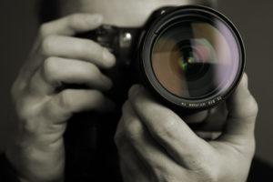 デザイナーとカメラ撮影