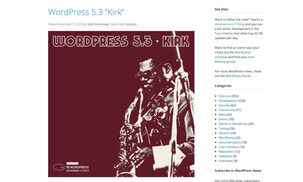 【セミナー参加報告】Aichi WordPress Meetup 「WordPress 5.3の新機能、アンカンファレンスで学んだこと」
