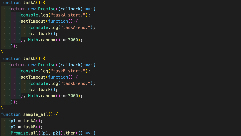 [JavaScript_中級者への道] Js_Promiseを使ってみる